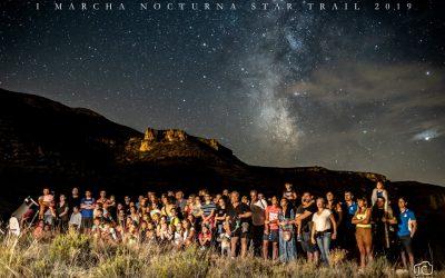 1ª Marcha Nocturna Star Trail en Ariño