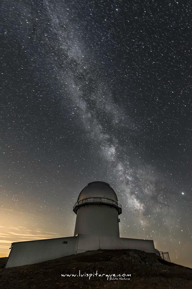 Telescopio en Teruel