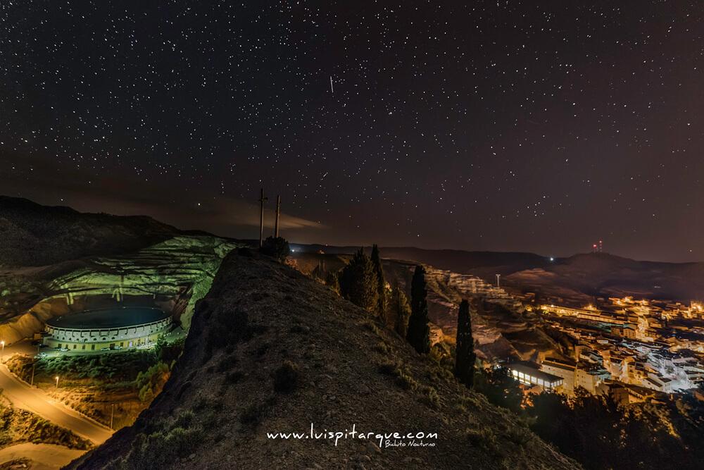 Vistas nocturnas de Alcorisa