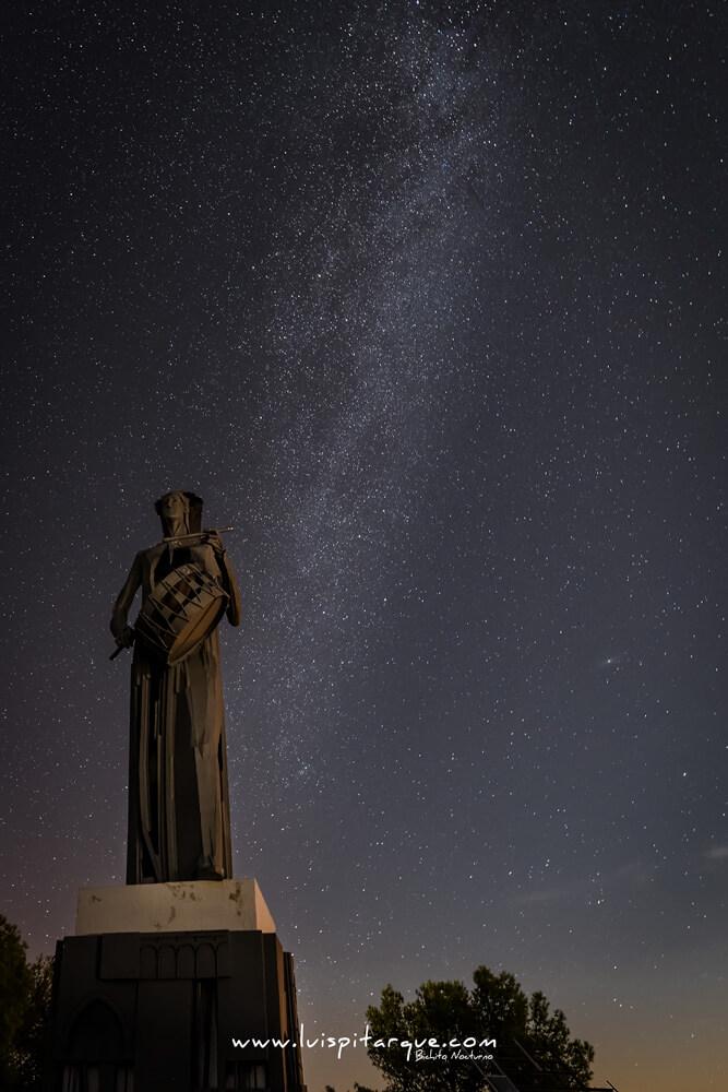 Monumento al tambor en Alcañiz