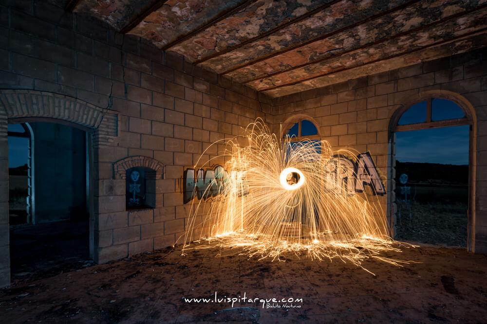 Estación abandonada en Alcorisa