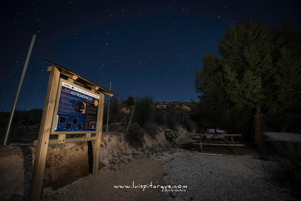 Mirador astronómico de Valdealgorfa