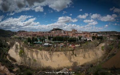Ríada del Guadalope a su paso por Alcañiz. Año 2015.