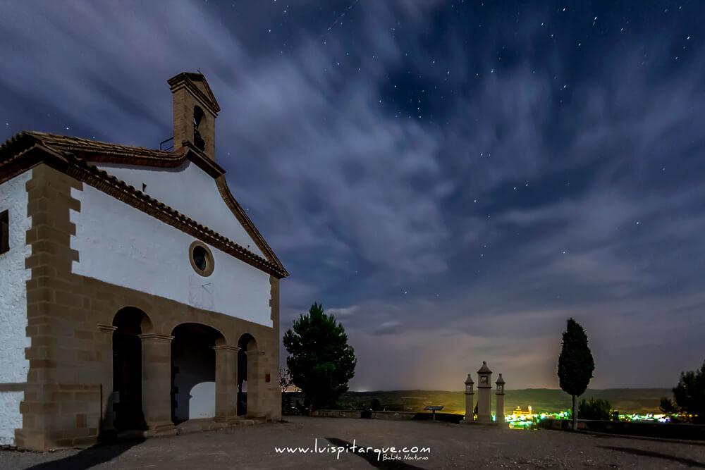 Ermita de Santa Bárbara en Castelserás