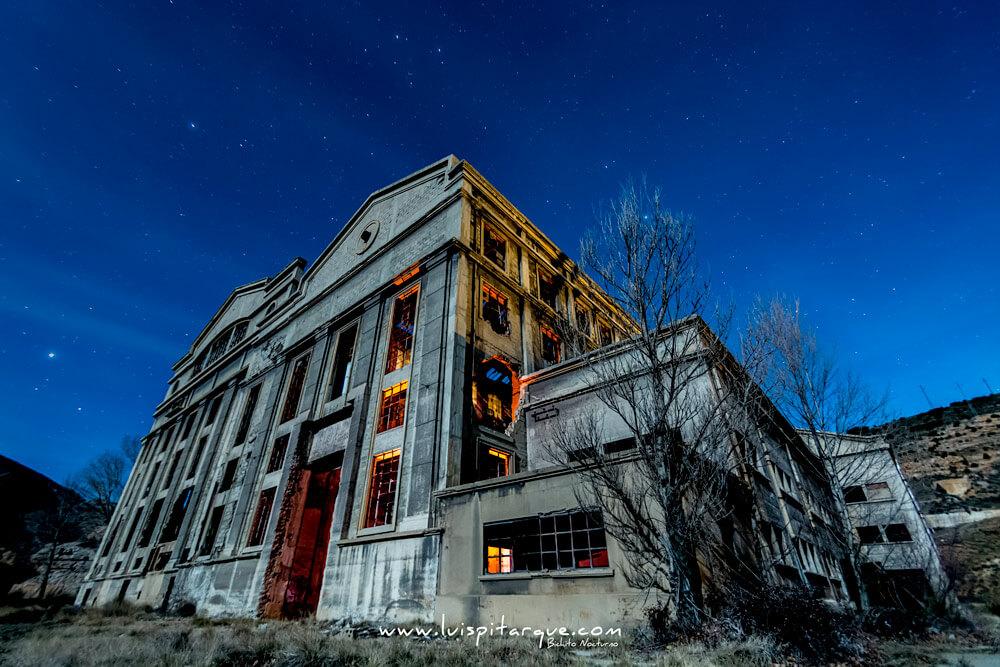 Central termoeléctrica de Aliaga.