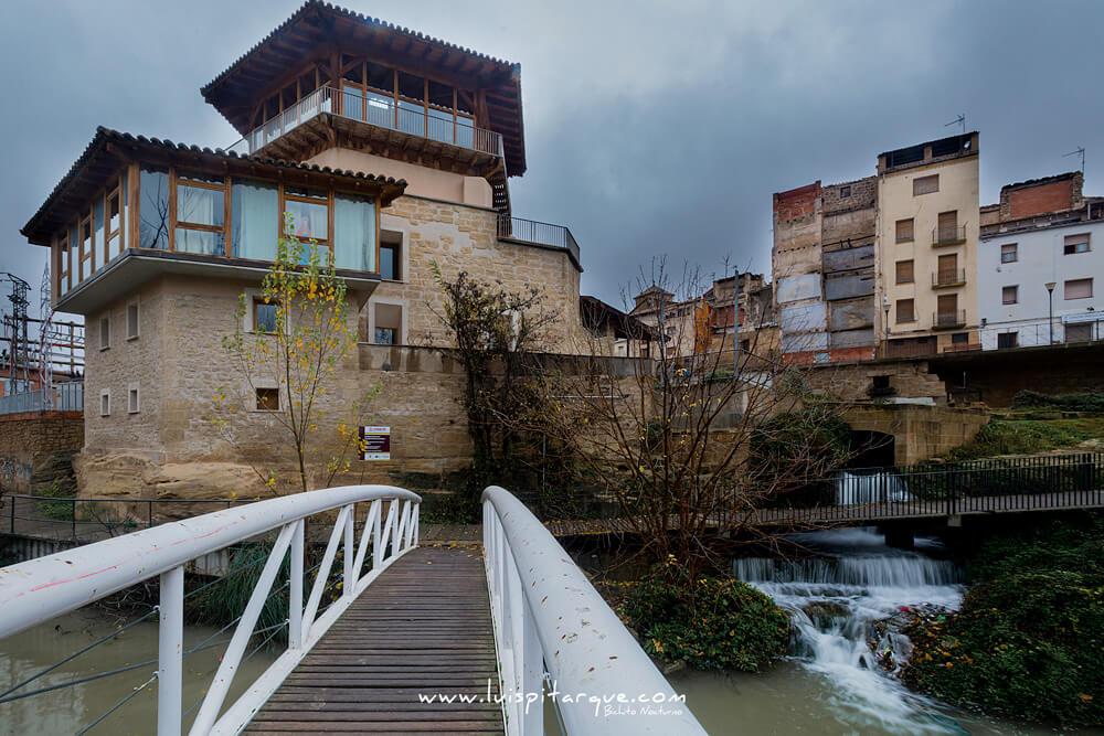 antiguo molino en Alcañiz