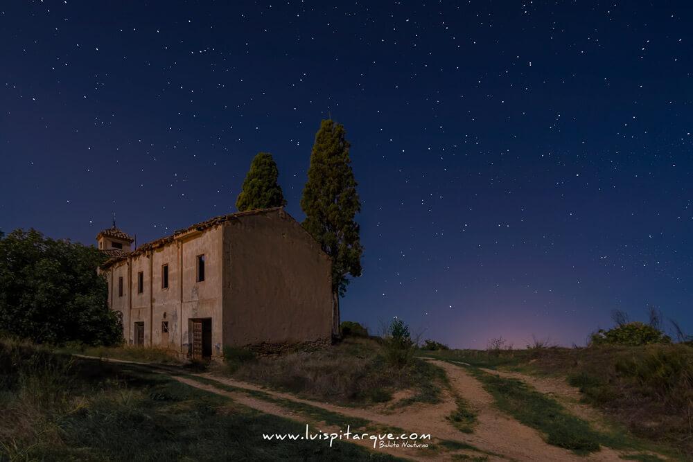 Torre abandonada en Alcañiz