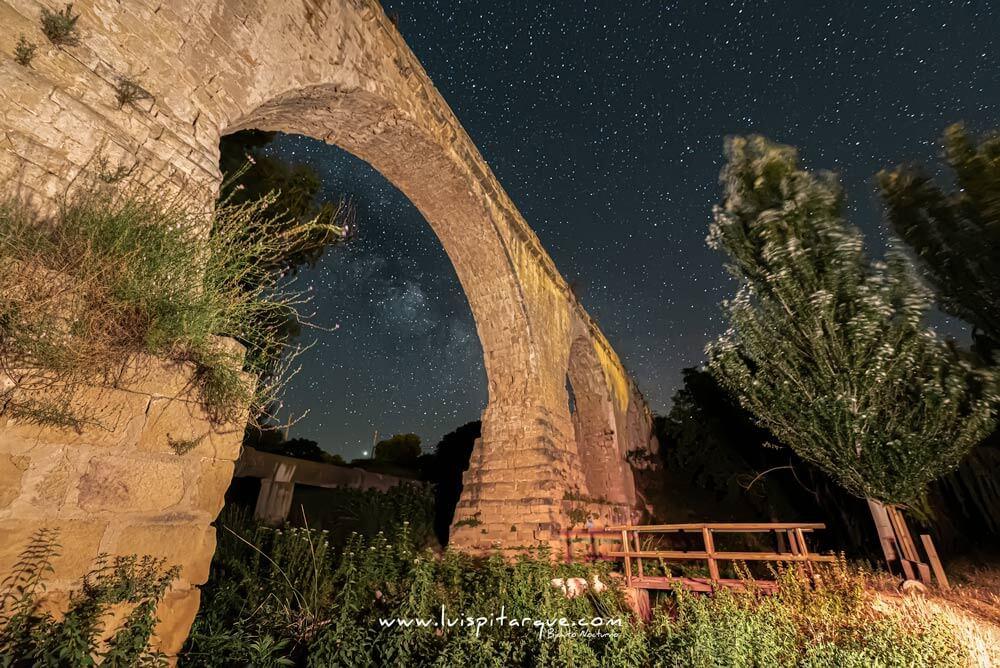 Acueducto de los arcos en Calanda.