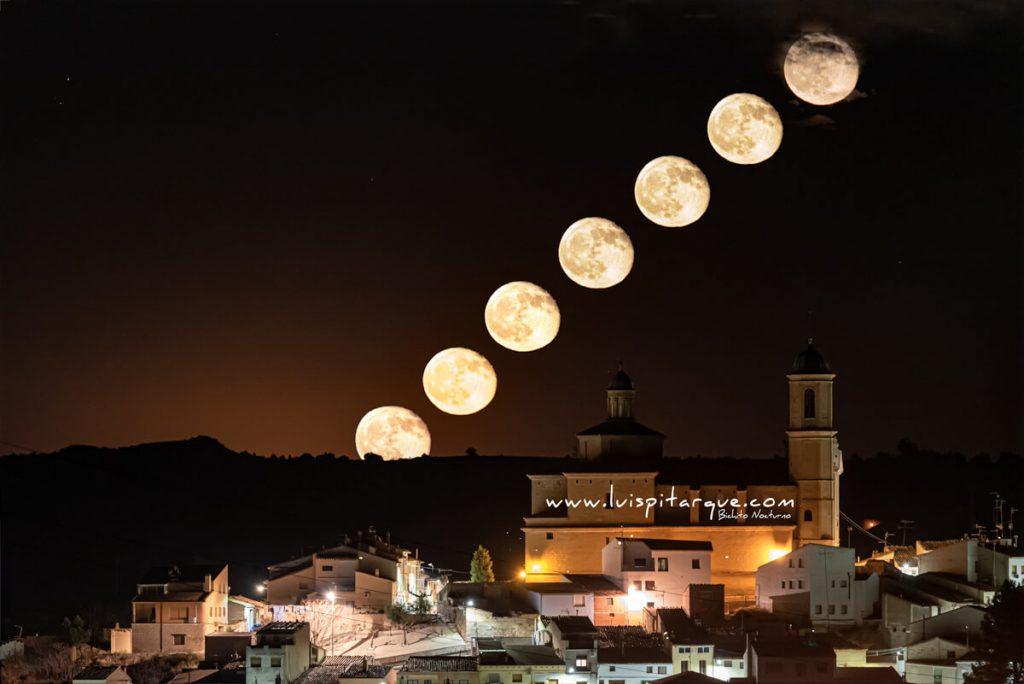 Luna azul en Castelserás rás