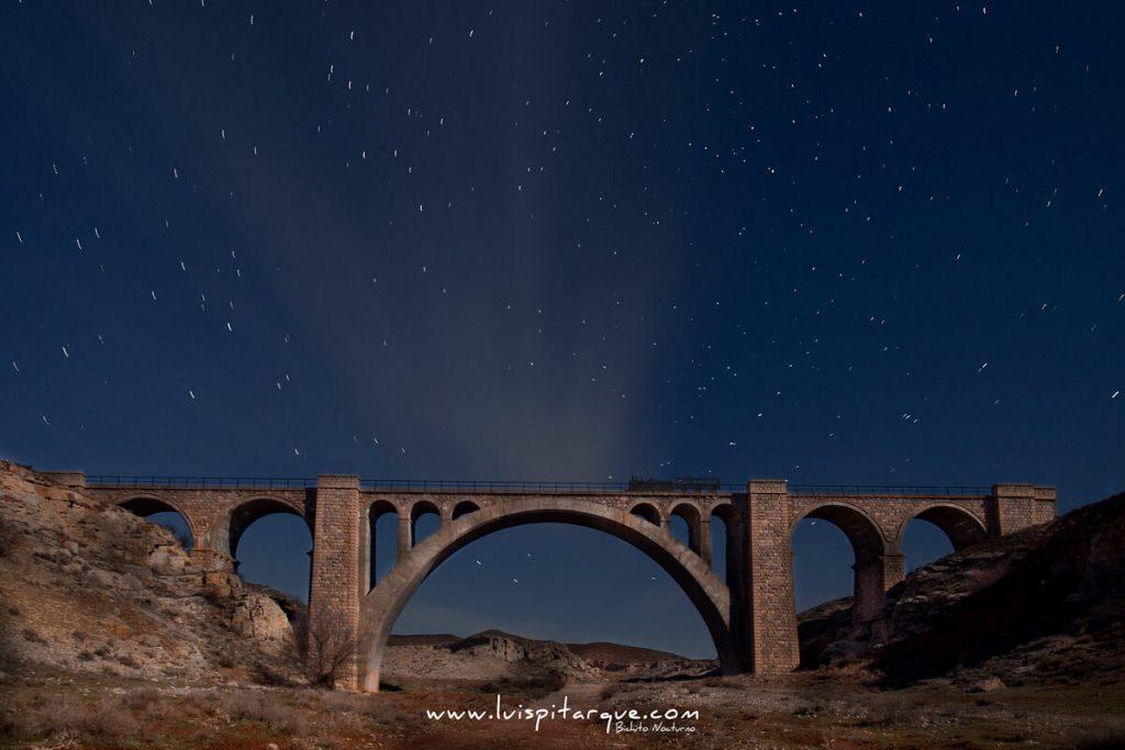 Vía férrea Alcañiz Teruel.