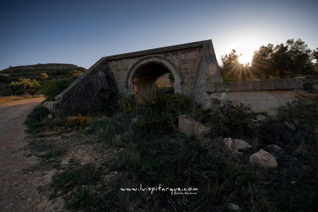 Vía férrea Alcañiz Teruel